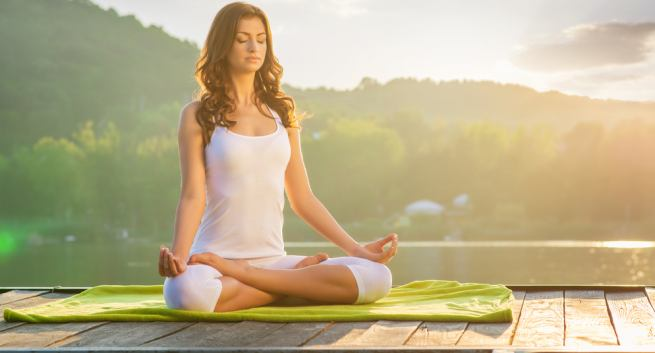 Padmasana or Lotus Position Benefits