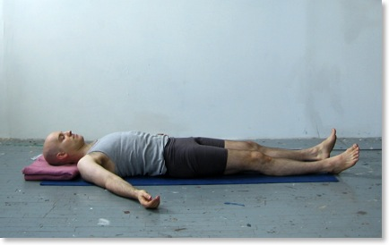 Shavasana or the Corpse Pose