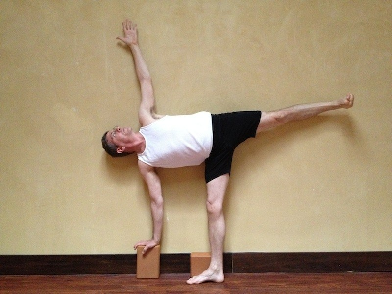 ARDHA CHANDRASANA also known as The Half Moon Pose
