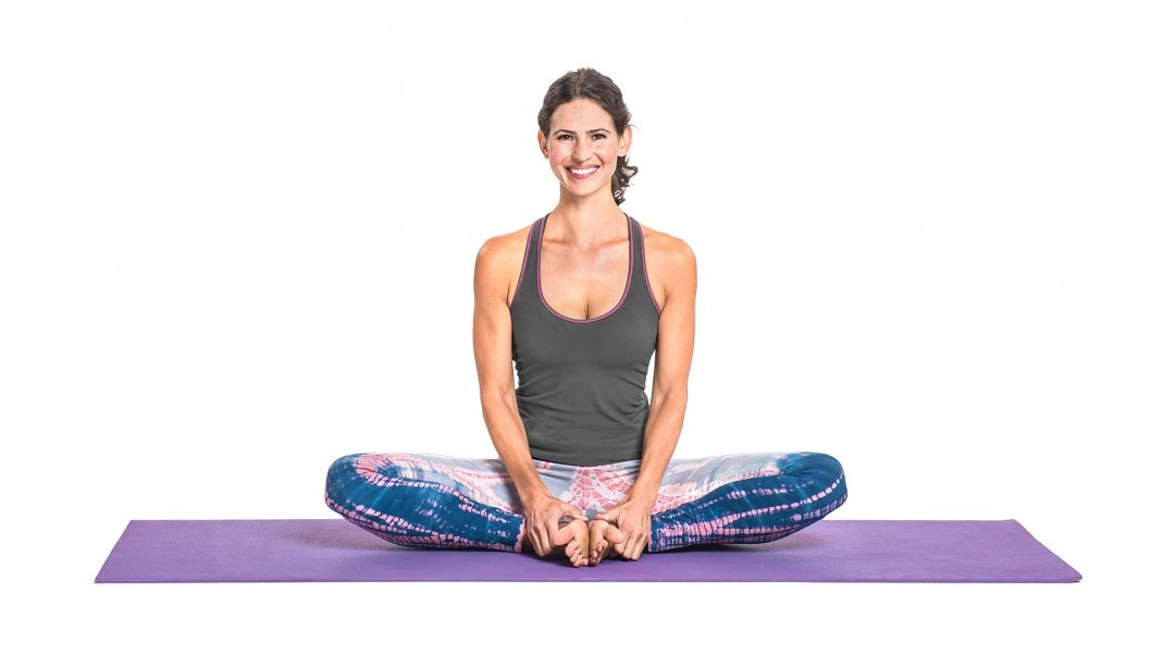Badhakonasana or Butterfly pose