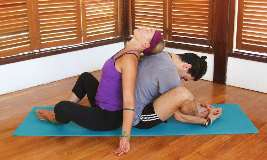 Bound Angle Pose Or Badha Konasana