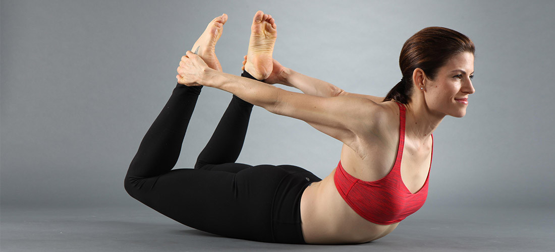 Dhanurasana or Bow Pose
