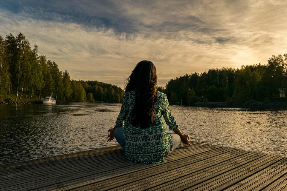 Iyengar yoga Calm Your Mind