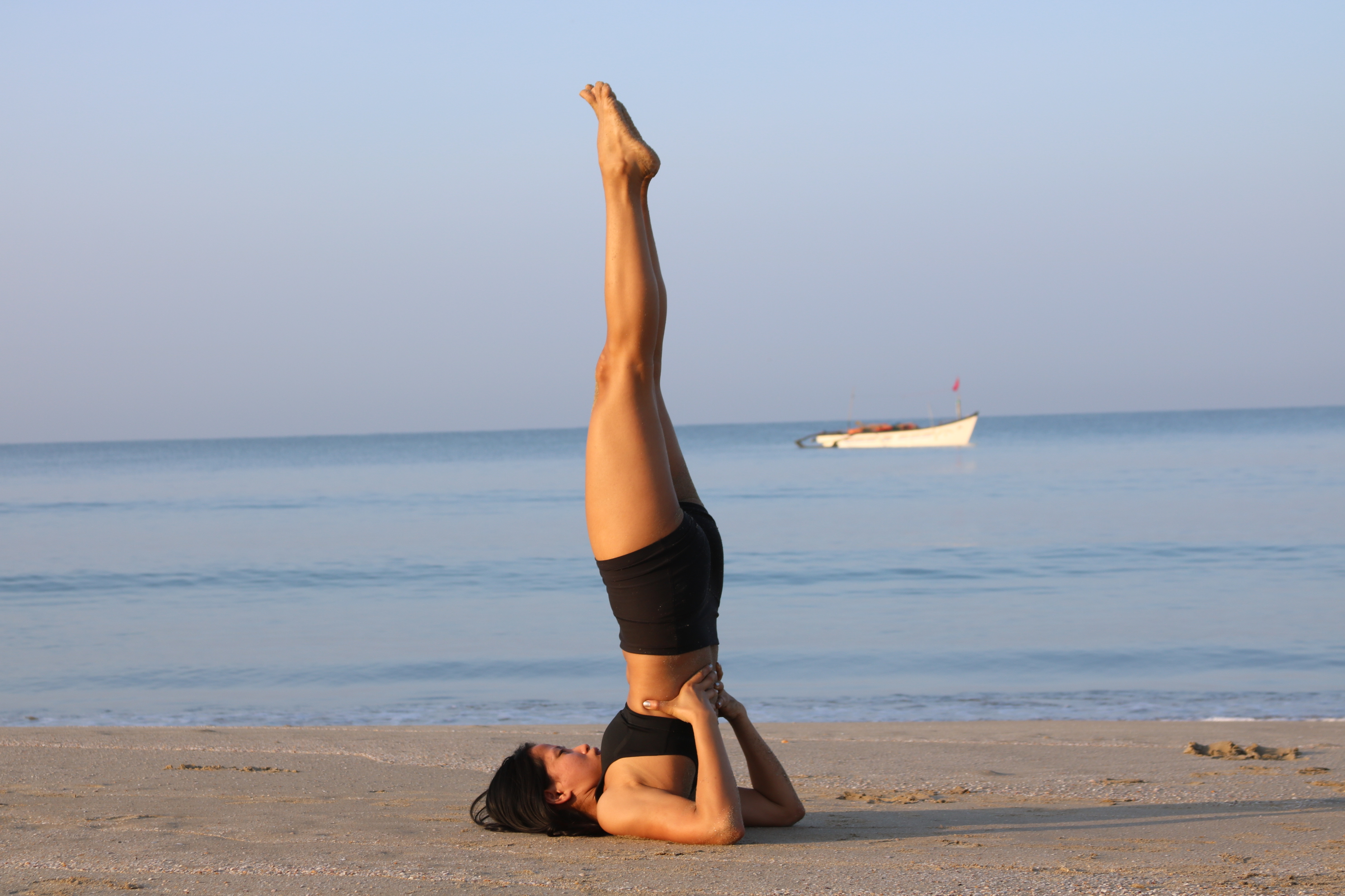 Sarvangasana Or Shoulder Stand Pose