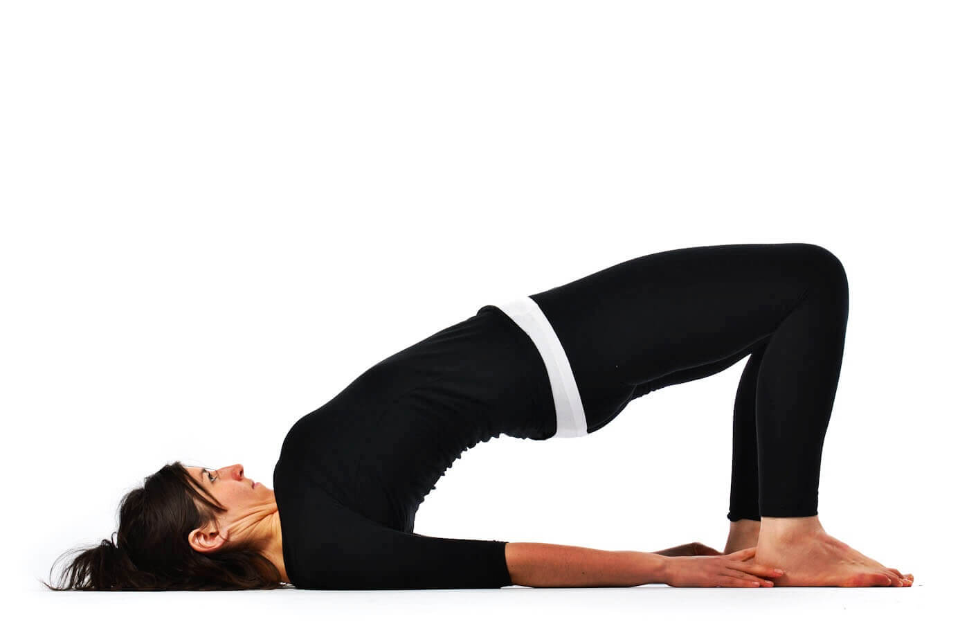 Setu Bandha Sarvangasana Or Bridge Pose