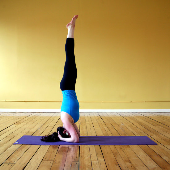 Sirshasana Or Headstand Pose