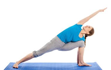 Utthita Parsvakonasana or Extended Sides Angle Pose