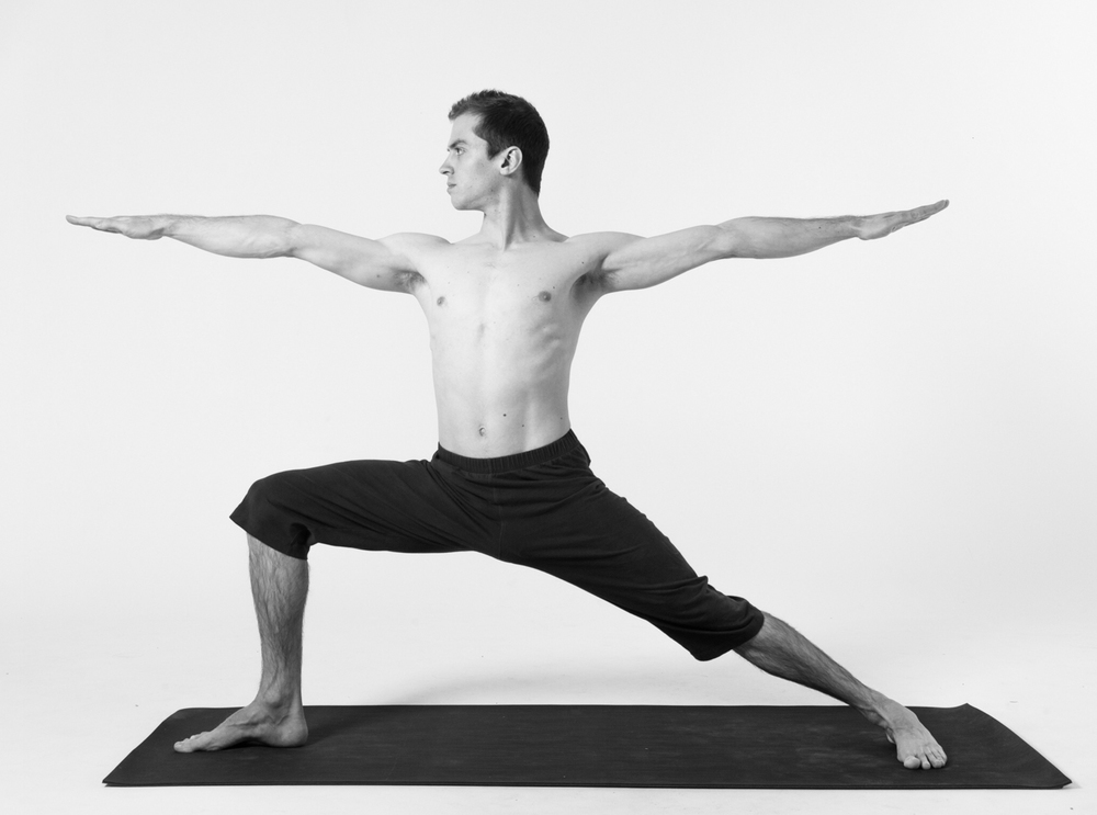 VIRABHADRASANA also known as The Warrior Pose