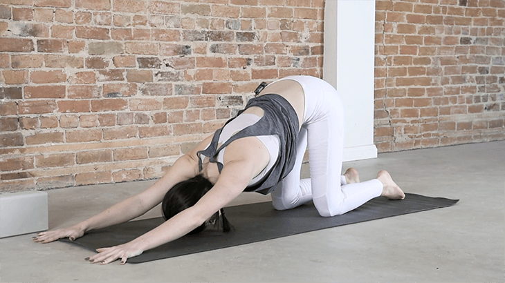 Yin Yoga Sequence for Low Back Pain