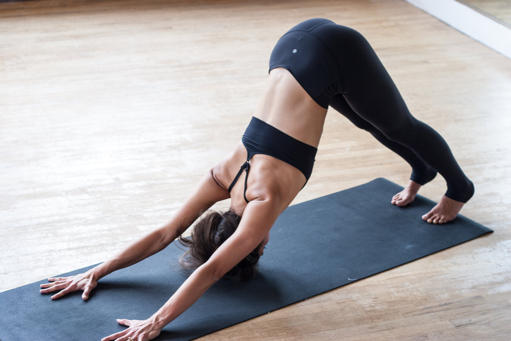 Adho Mukha Svanasana or Downward-Facing Dog Pose