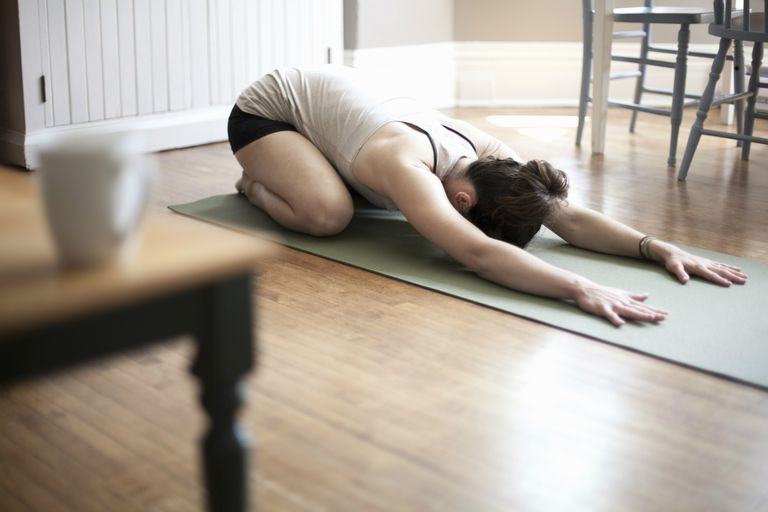 Balasana or Child Pose