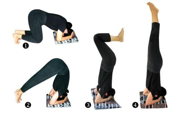 Benefit of Shirshasana