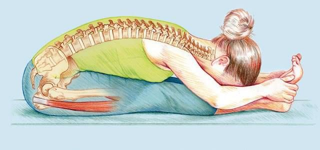 Benefits Of Paschimottanasana