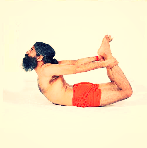 Dhanurasana (धनुरासन) or The Bow Pose