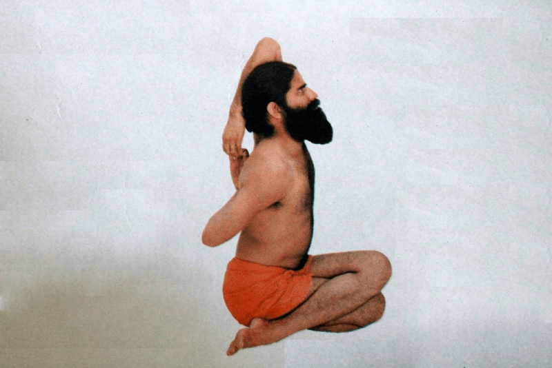 Gomukhasana (गोमुखासन) or The Cow Face Pose