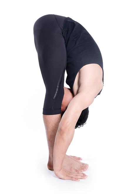 Padahastasana Yoga For Fathers