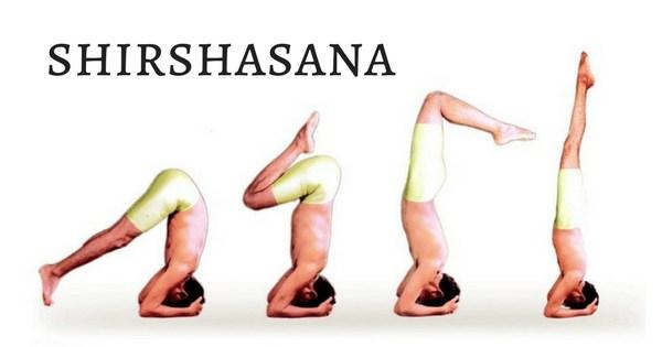 Step By Step Instruction To Perform Shirshasana