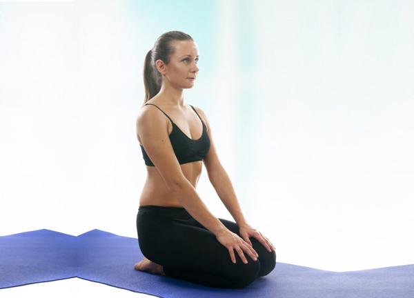 Step By Step instruction to do Vajrasana