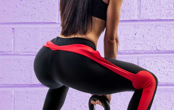 Toned Up Glutes