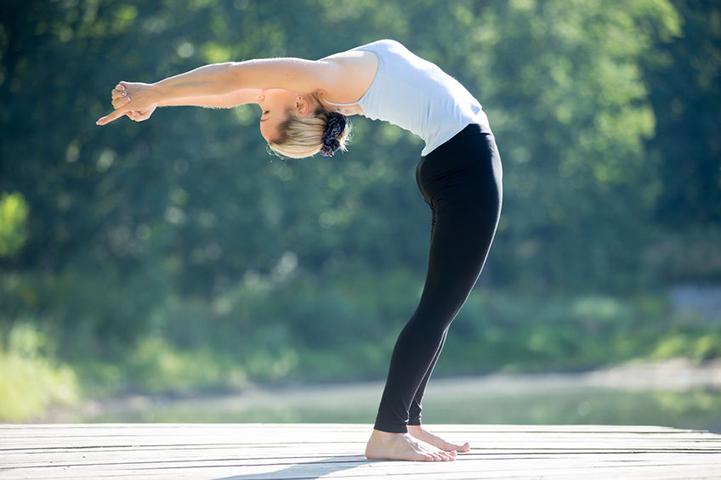 Ardha Chakrasana (अर्धचक्रासन) Or The Standing Backward Bend