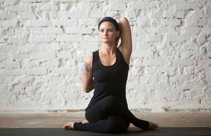 Gomukhasana (The Cow Pose)