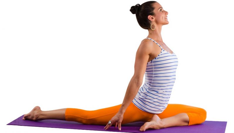 Kapotasana or the Pigeon Pose