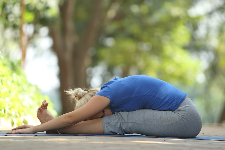 Paschimottanasana Or Seated Forward Bend