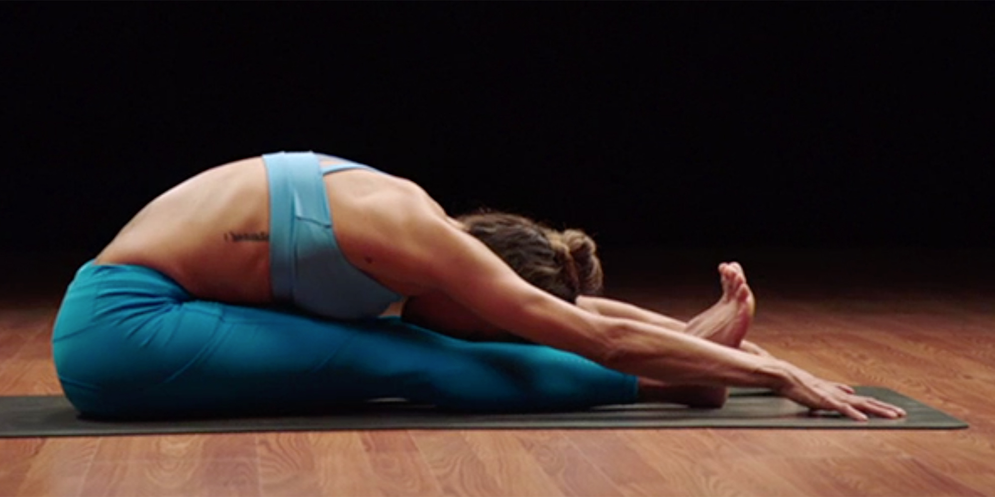 Paschimottanasana (Two-Legged Forward Bend)