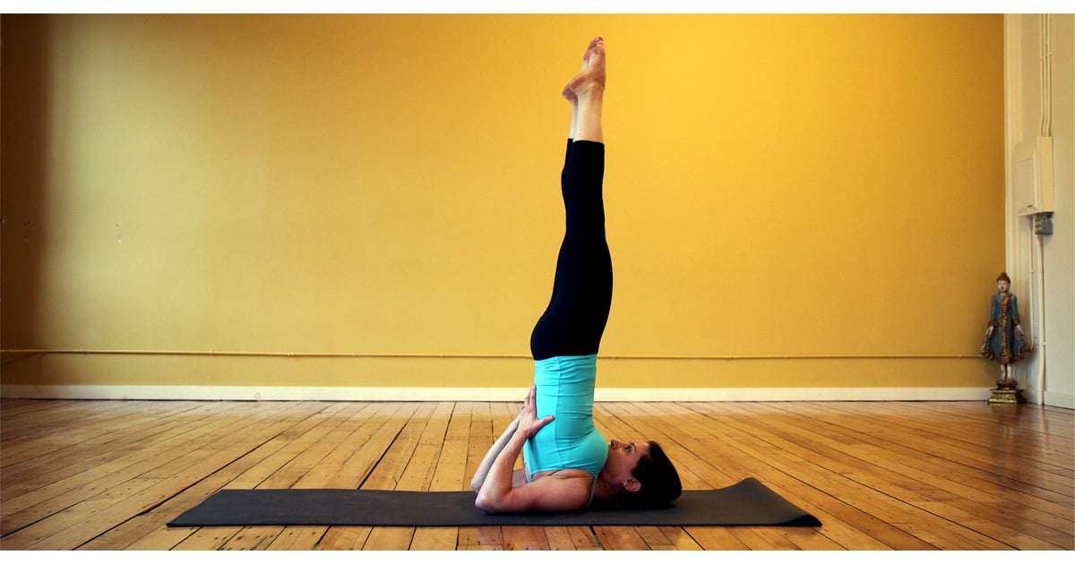 Step By Step Instruction To Practice Sarvangasana