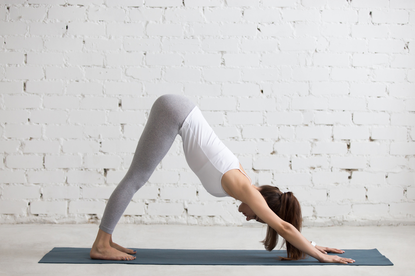Adho Mukha Svanasana Or Downward-Facing Pose