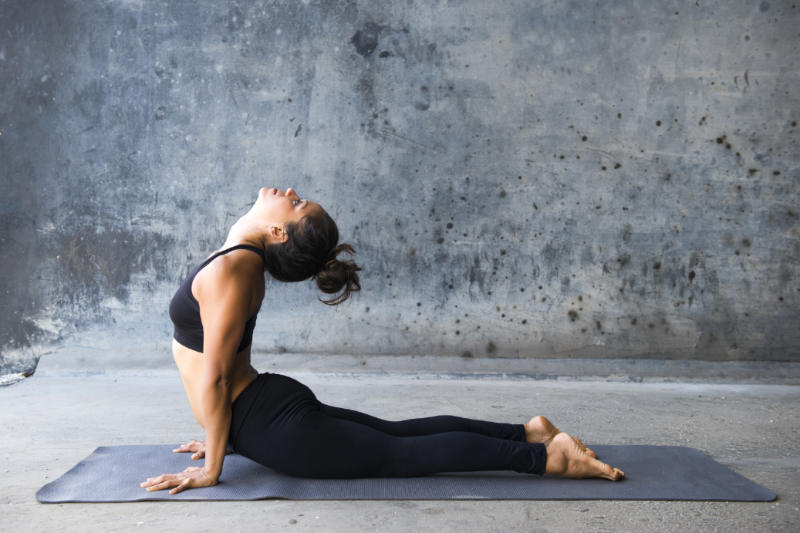 Bhujangasana Or Cobra Pose