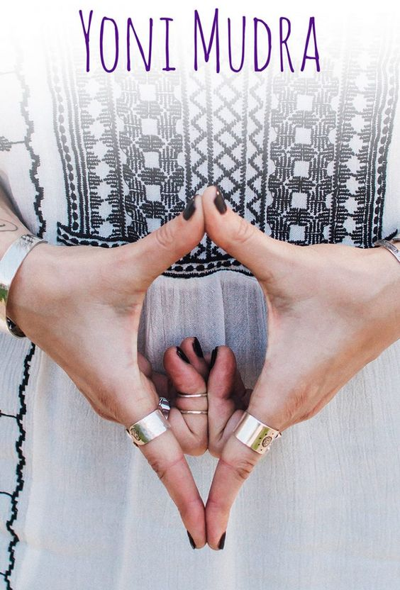 Kriya Yoga Steps 4 Yoni Mudra