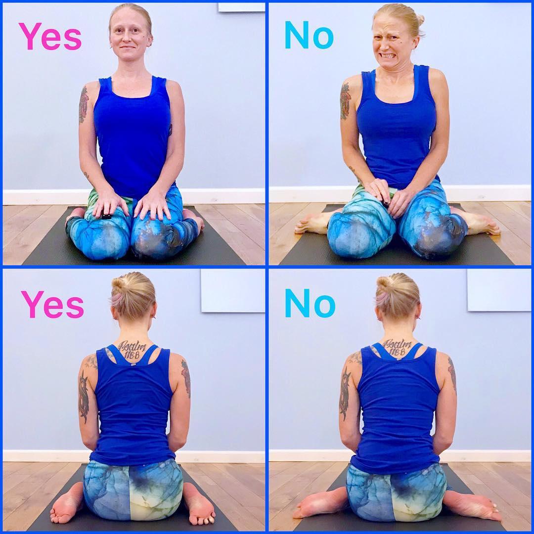 Method Of Doing Virasana (Hero Pose)