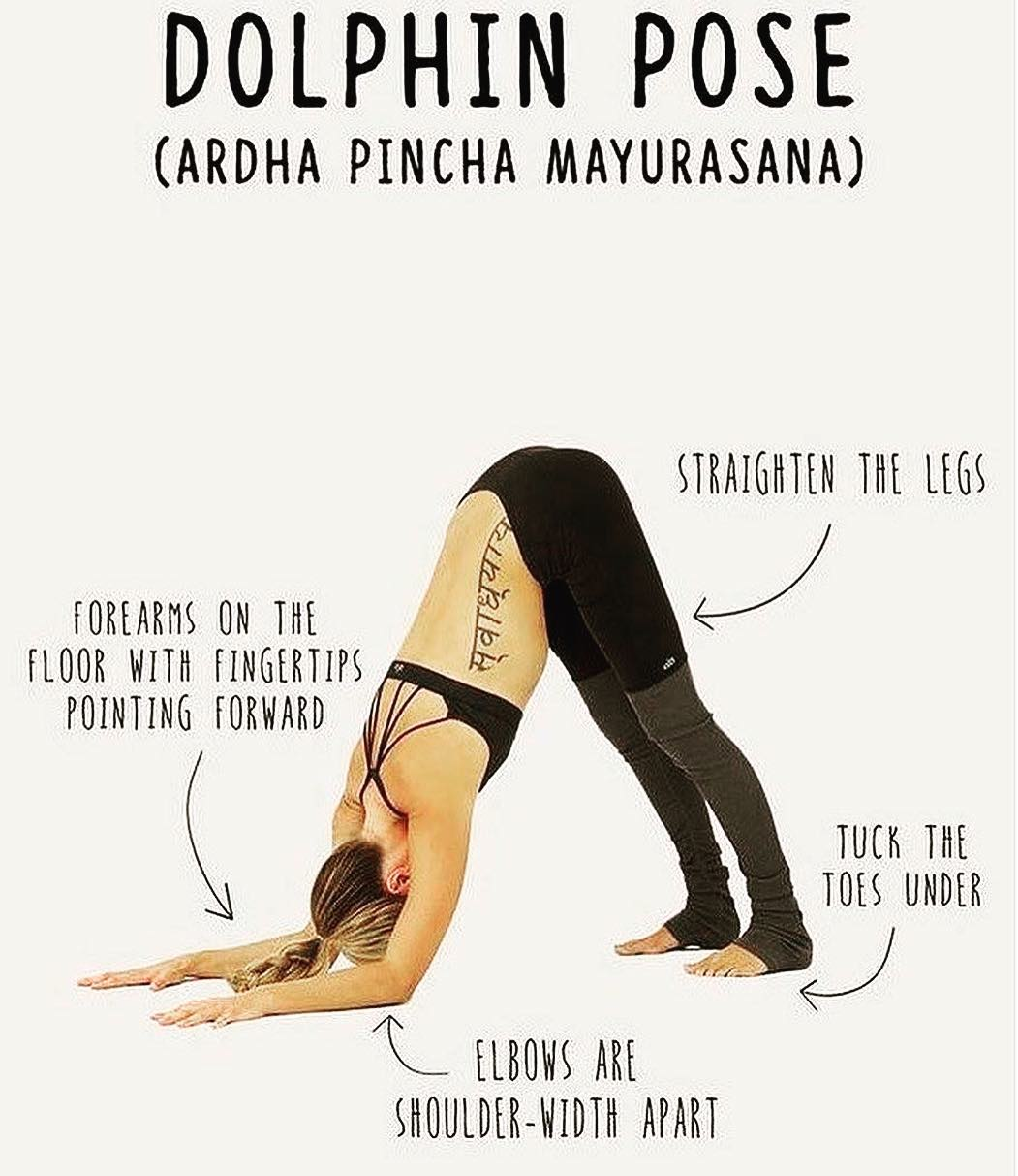Method of doing Ardha Pincha Mayurasana