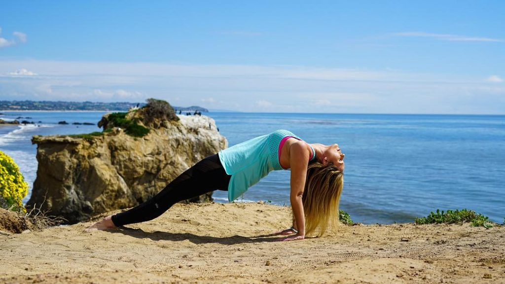 Method of Doing Purvottanasana (Upward Plank Pose)