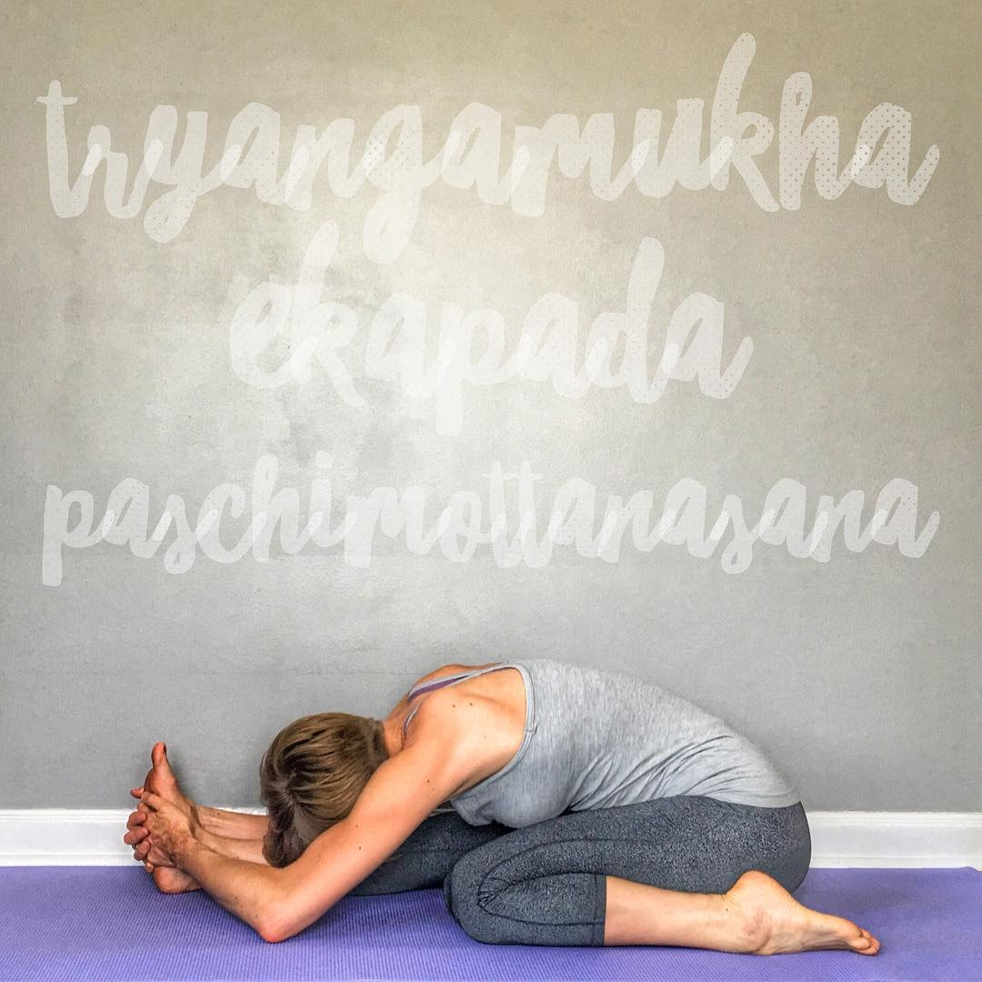 What Does It Mean By Trianga Mukhaikapada Paschimottanasana