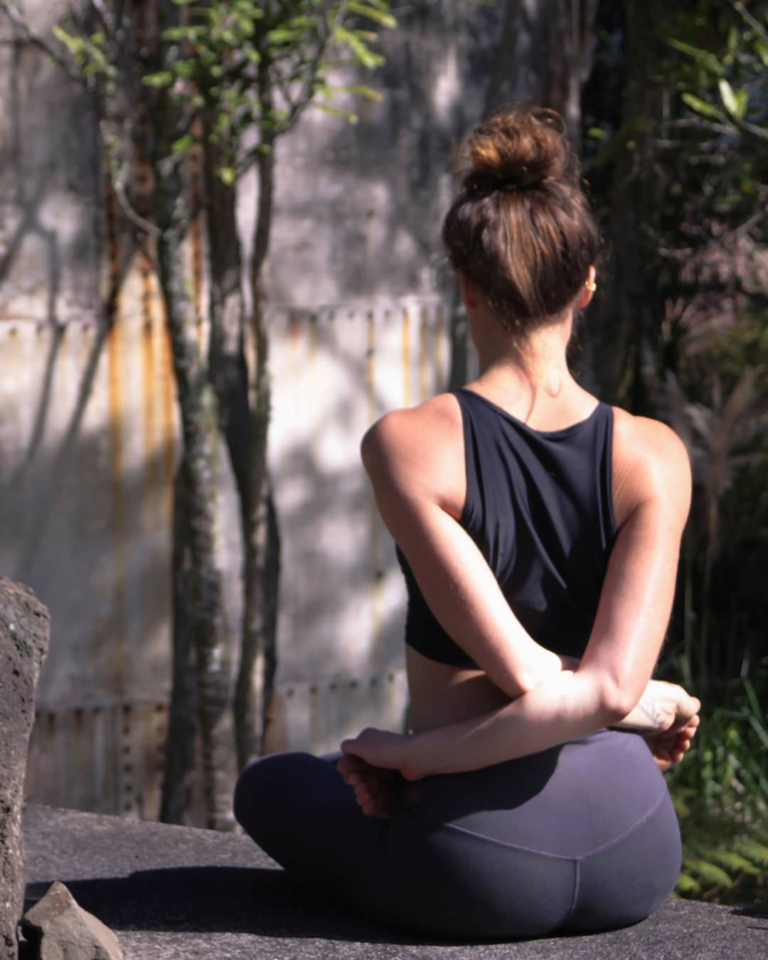 Baddha Padmasana Or Locked Lotus Pose