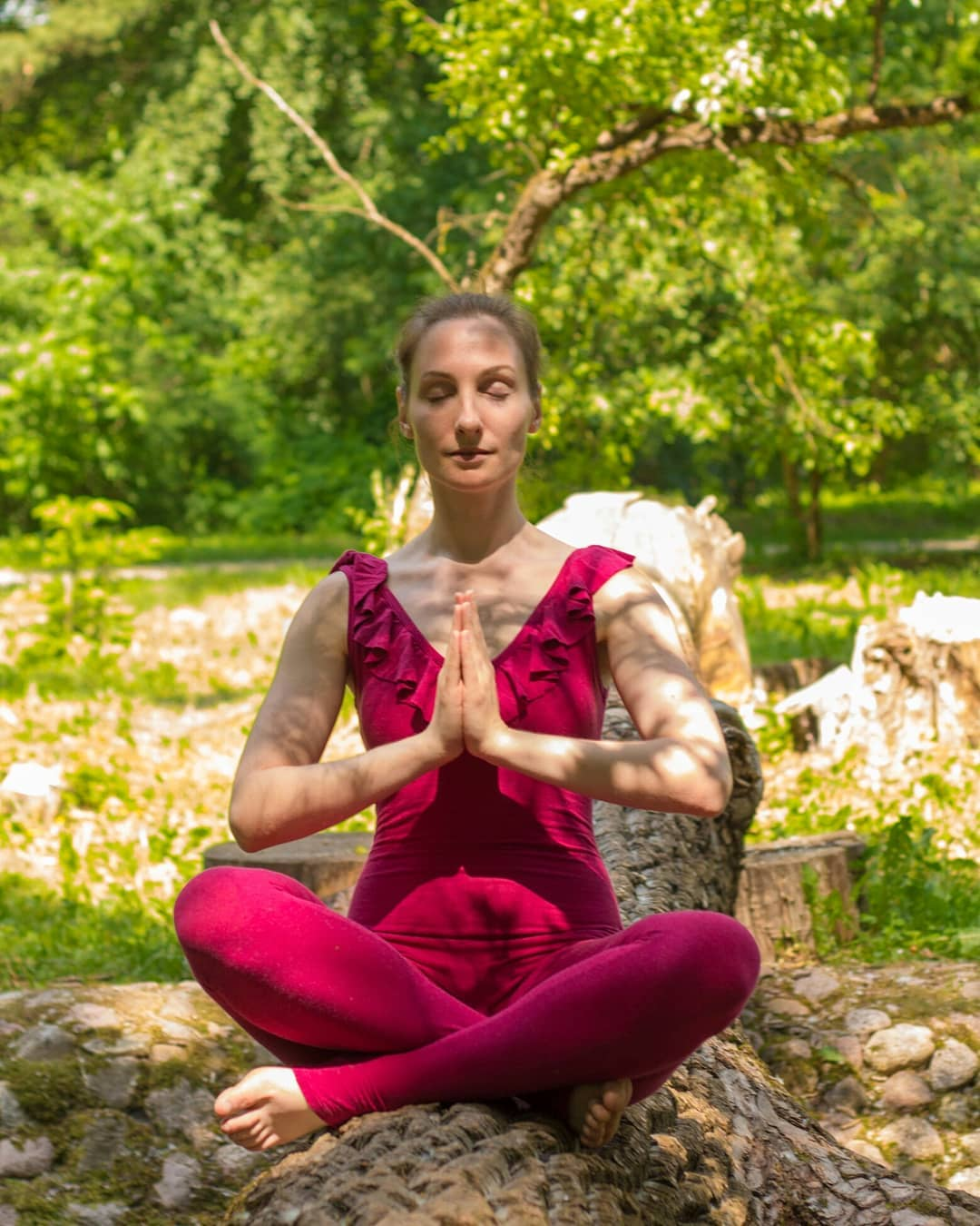 Sukhasana or Easy Pose