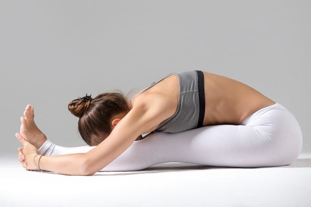 Paschimottanasana or Seated Forward Bend/Intense Dorsal Stretch