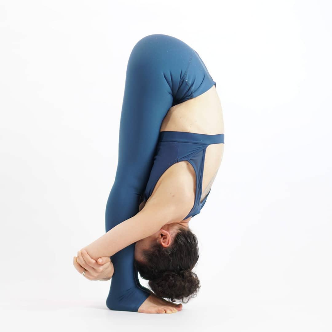 Uttanasana / Padahastasana or Standing Forward Bend
