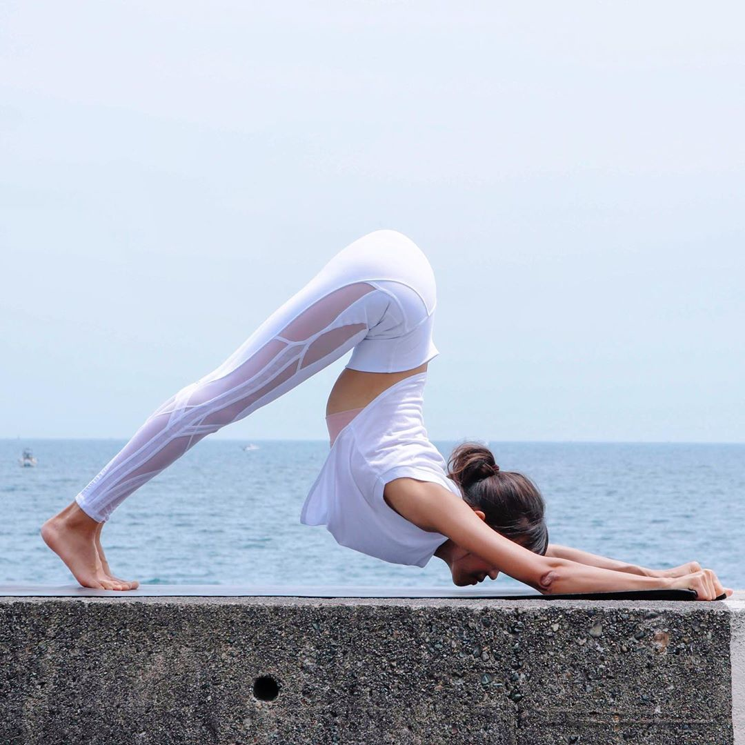 Power Yoga Adho Mukha Svanasana (Downward Facing Dog Pose)