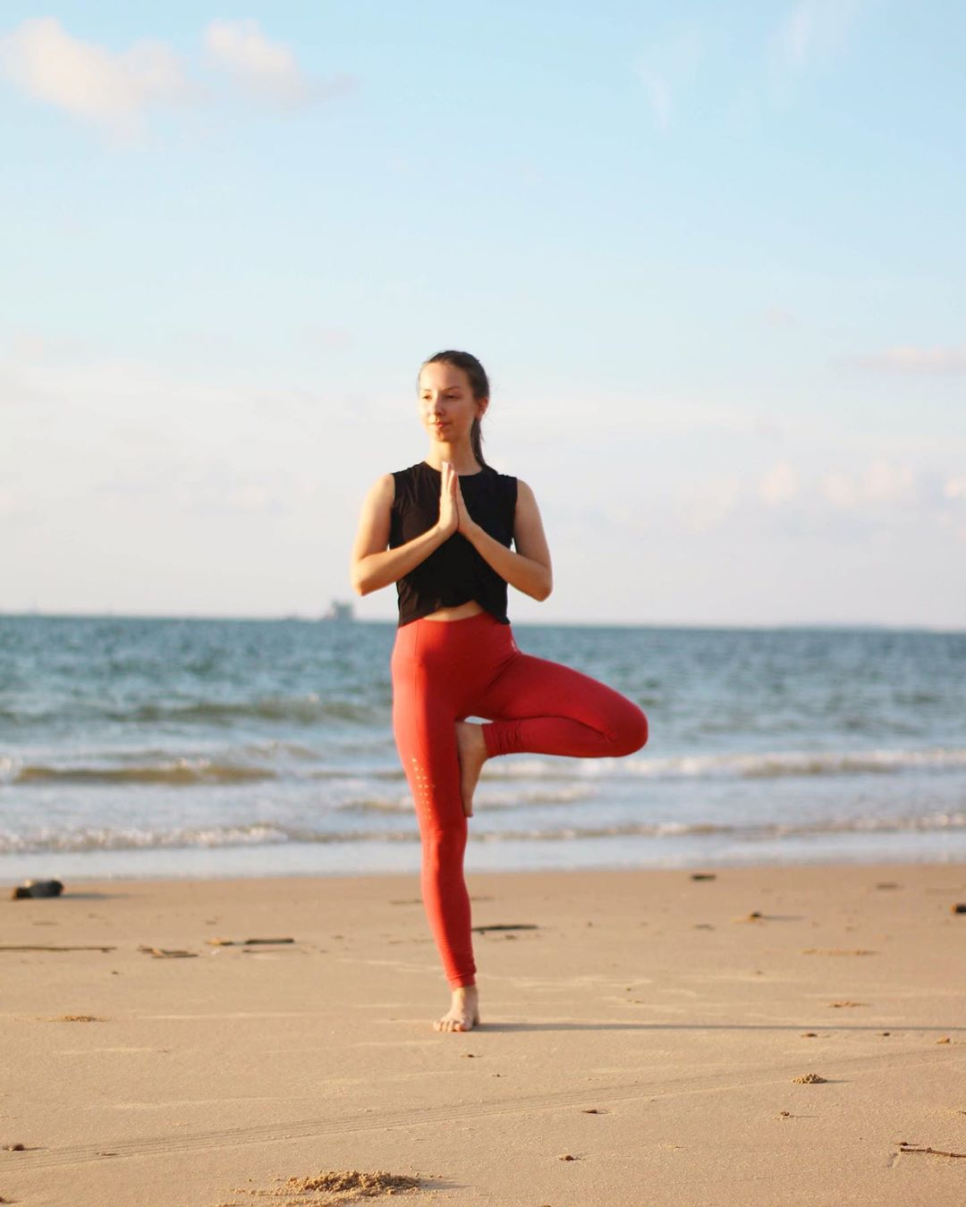 Vrikshasana or Tree Pose