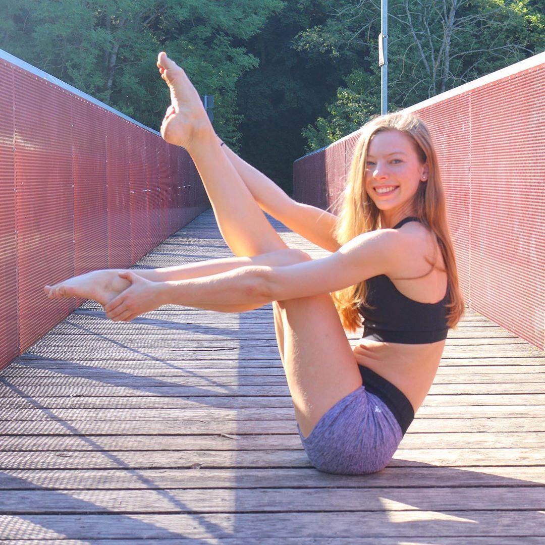 Power Yoga Navasana or Boat Pose