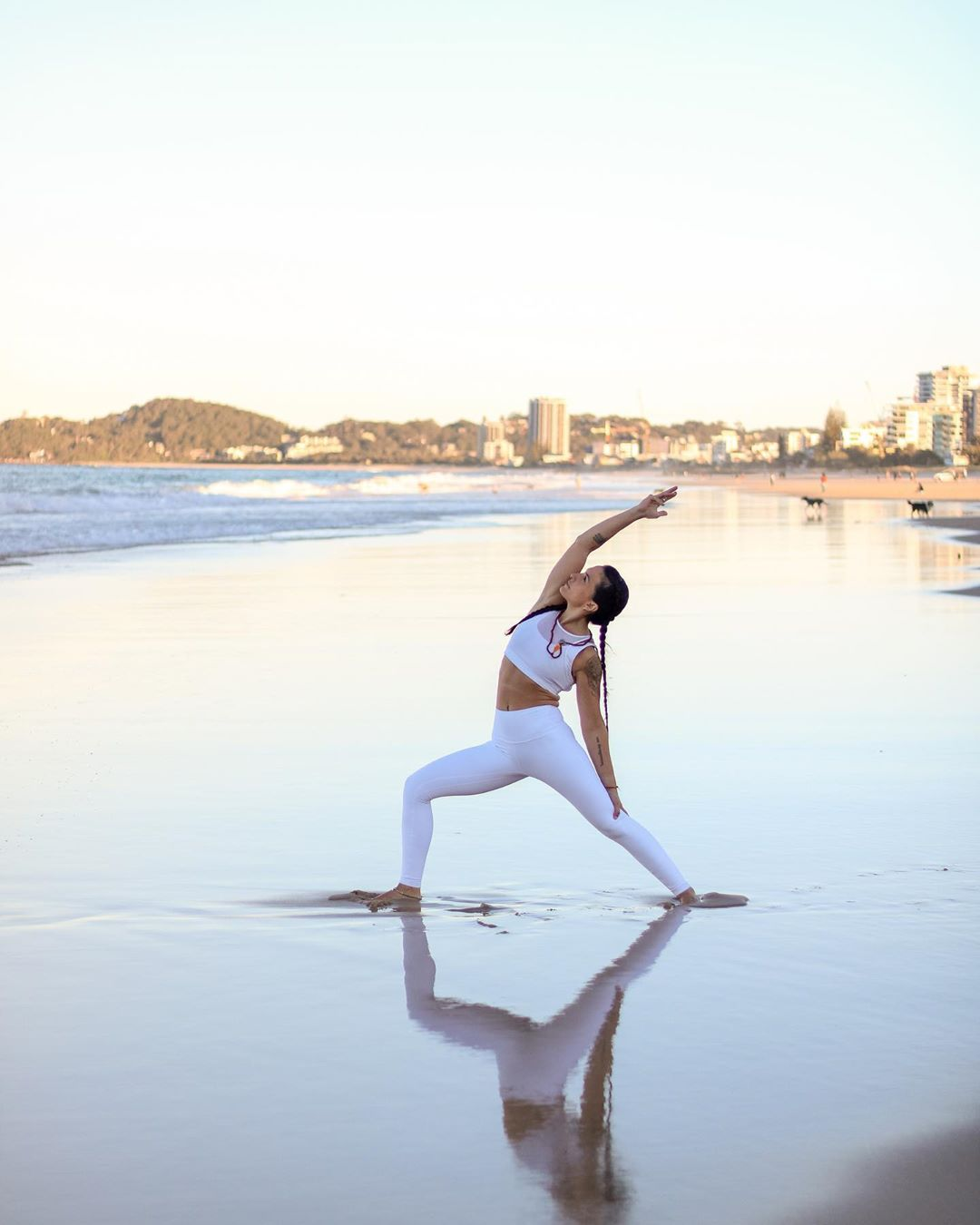Virabhadrasana or Warrior Pose